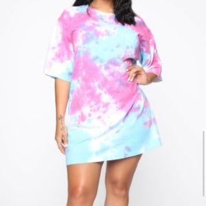 NEW Bubblegum Dreams T-Shirt Dress